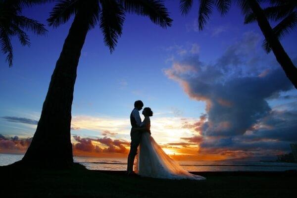 ロマンチックなリゾートウェディング
