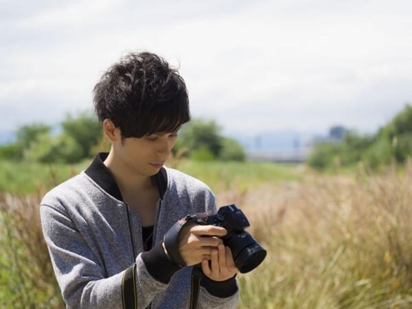 プロのカメラマン