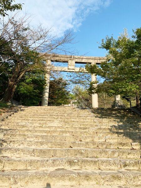 宝満宮竈門神社の鳥居